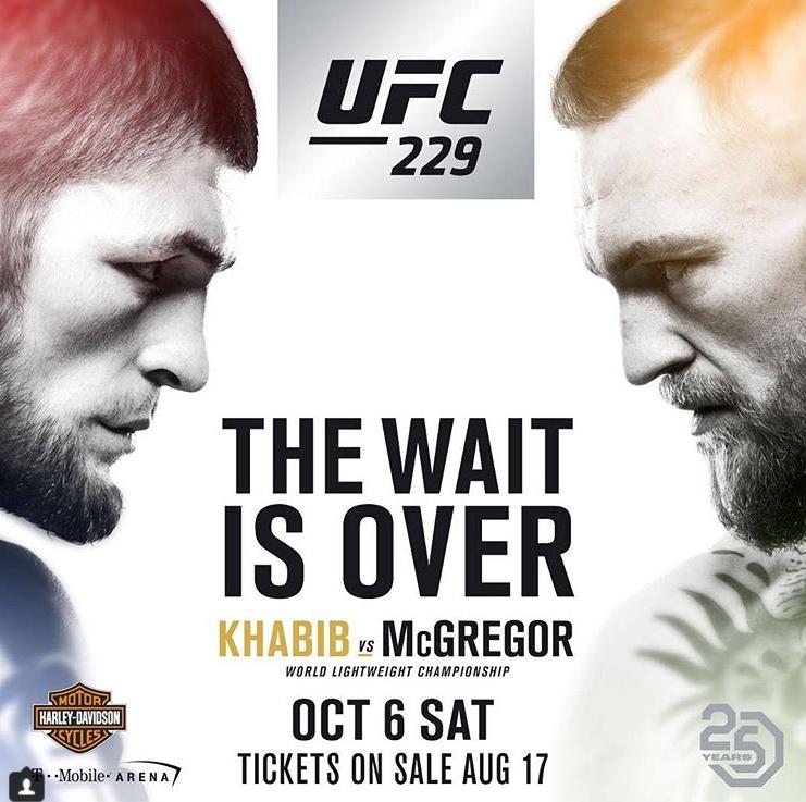 UFC 229: McGregor vs. Khabib
